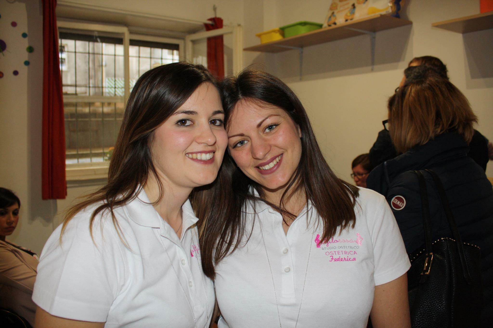 FEDERICA E MARTINA: Libere professioniste per scelta, ostetriche per vocazione