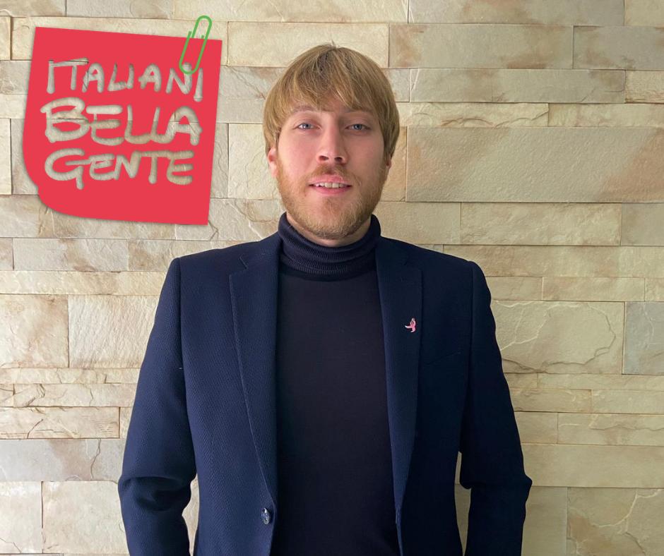 Alessio Bruni: Coronare un sogno fino alla fine credendo in se stessi.